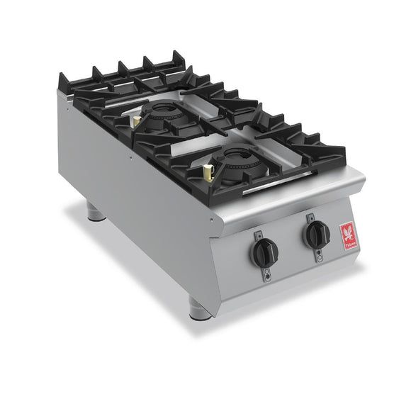 Falcon Two Burner Countertop Boiling Hob Gas G9042