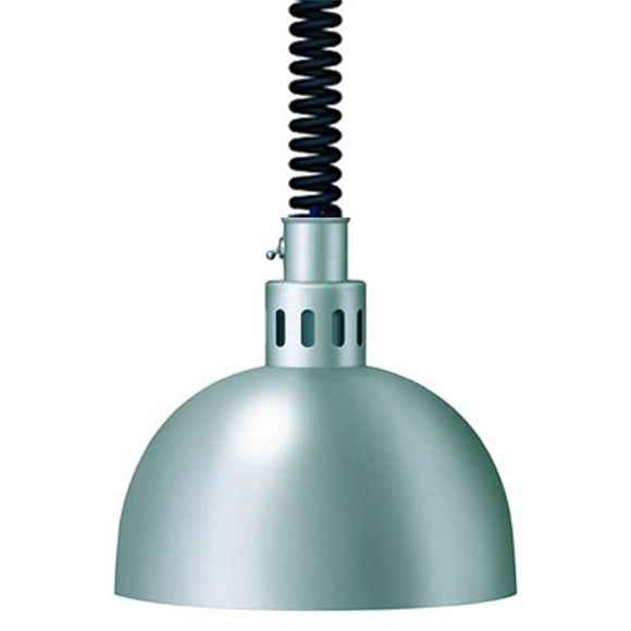 Hatco DL-750-RL Decorative Lamp in Bright Nickel Finish - Cater-Connect