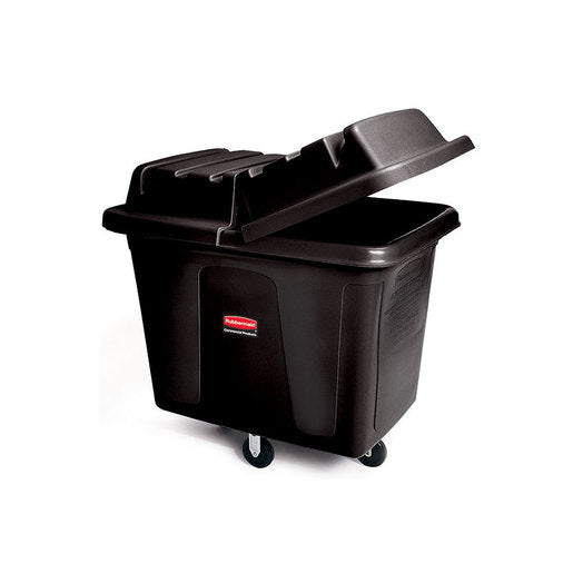 Lid For Cube Truck Black 200ltr - Cater-Connect