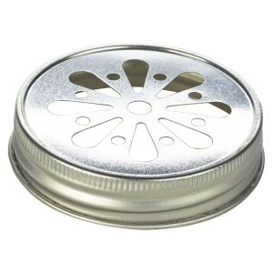 Genware Glass Mason Jar Lid