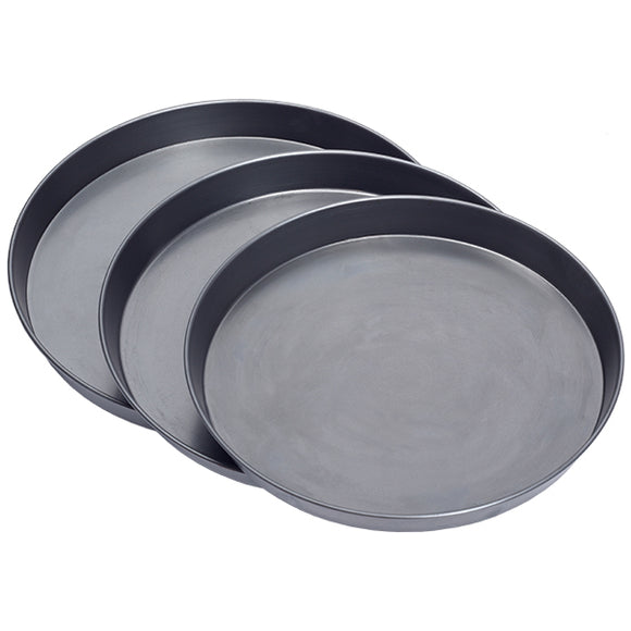 Black Iron / Carbon Steel Pizza Pans- Various Sizes Available - Cater-Connect