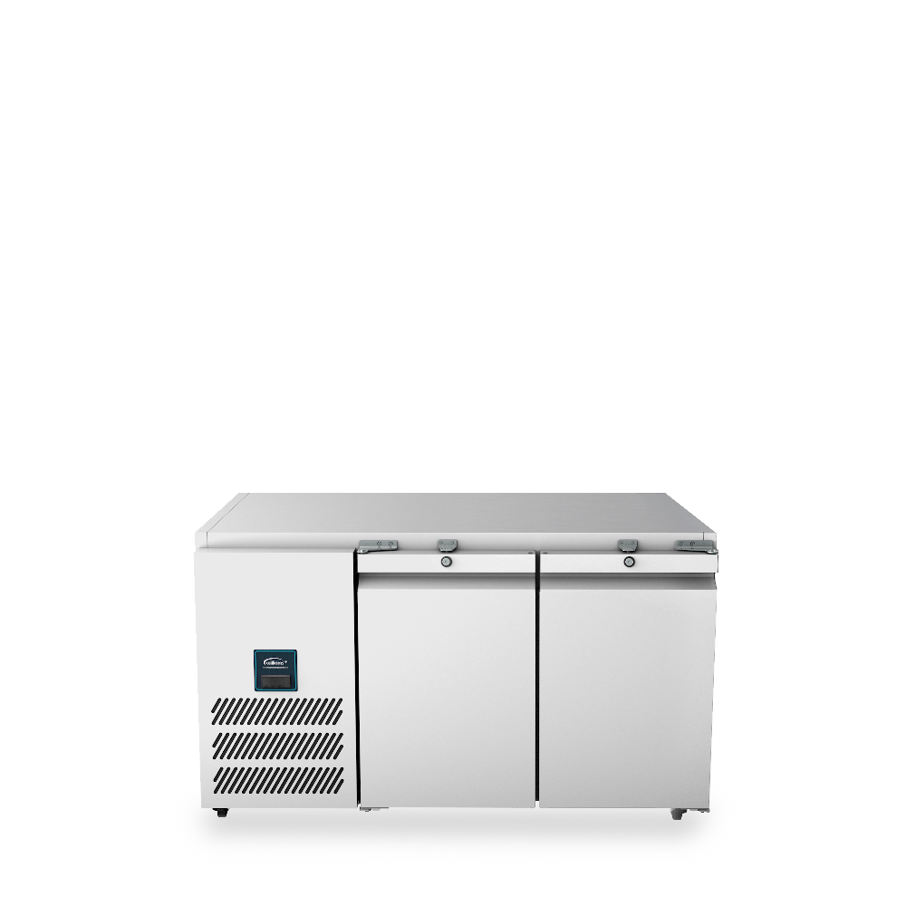Williams Jade Biscuit Top Counter LJTBC2-SA 2 Door Freezer