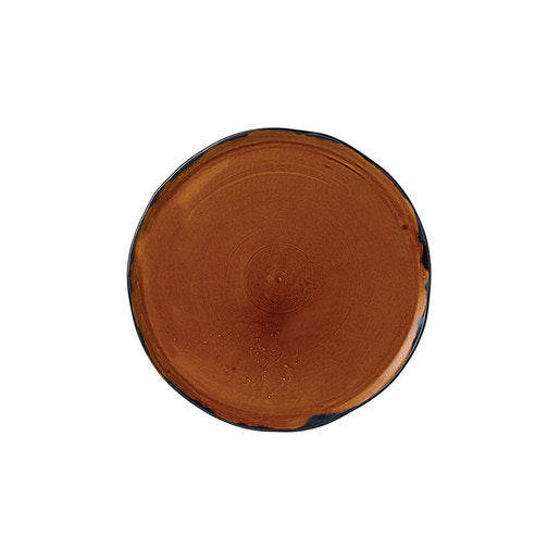 Harvest Plate Brown 5 1/2 inch 14.3cm (Pack Of 12)
