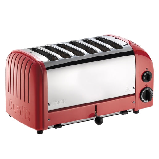 Dualit 6 Slot Vario Toaster - Red