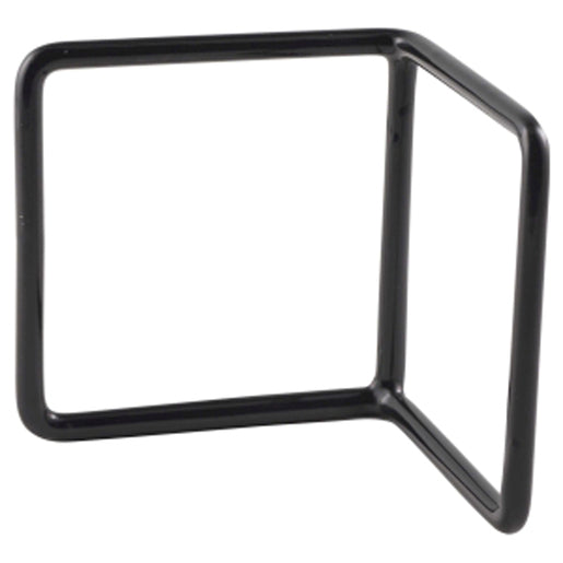 Black Anti Slip L Shape Riser 10 x 10 x 10cm - Cater-Connect