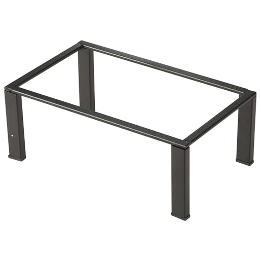 Black GN Buffet Riser GN 1/4 10cm (H) - Cater-Connect