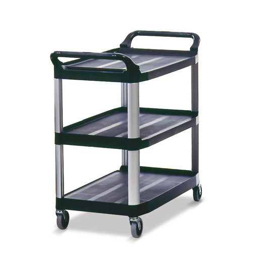 Rubbermaid Utility Trolley All Purpose Black - Cater-Connect