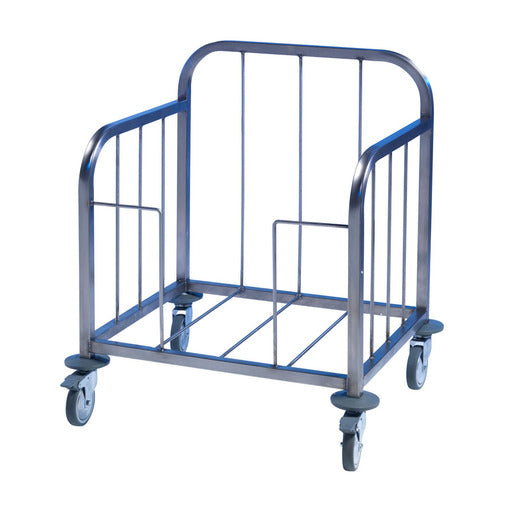 Tray Pick-Up Trolley -100 Tray - S/Steel Frame - Cater-Connect