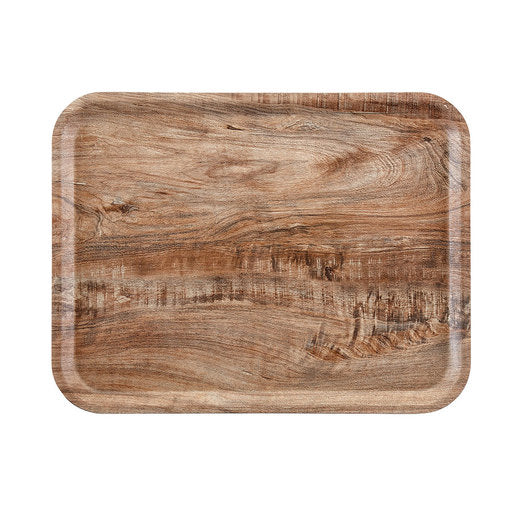 Cambro Light Olive Wood Effect Tray 36 x 46cm - Cater-Connect