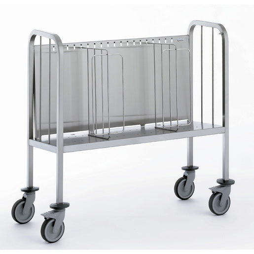 Plates Trolley with Secure Stacking Partitions - Cater-Connect