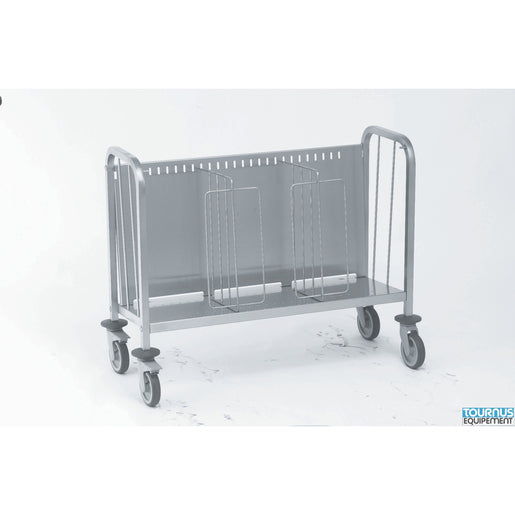 Plates Trolley with Secure Stacking Partitions- 300 plates - Cater-Connect
