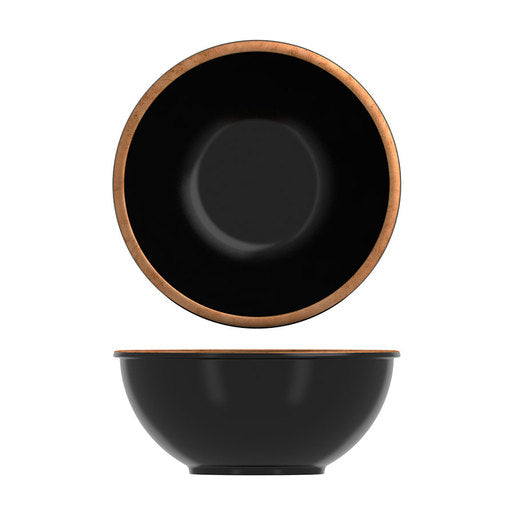 Copper / Black Utah Melamine Bowl 3.2L (Pack Size 6) - Cater-Connect