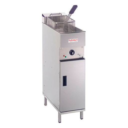 Valentine EVO250 Electric Fryer 1 Pan 1 Basket - Cater-Connect