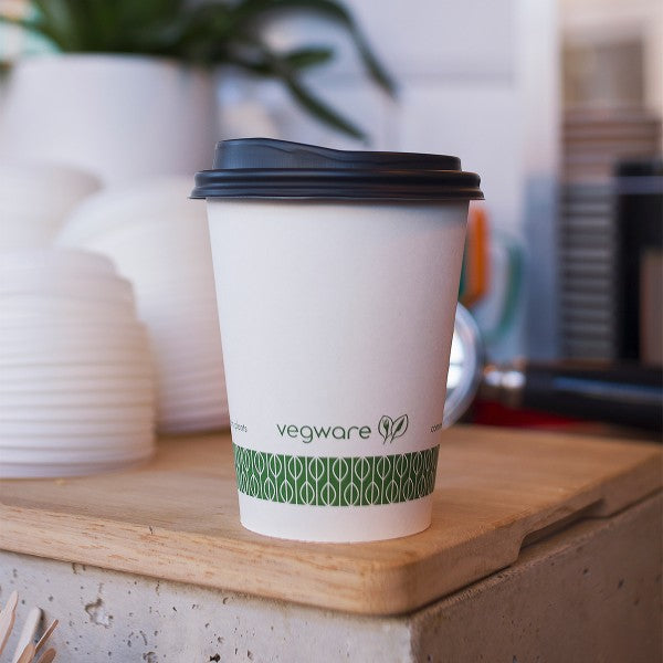 Vegware 89-Series 12oz White Hot Cup