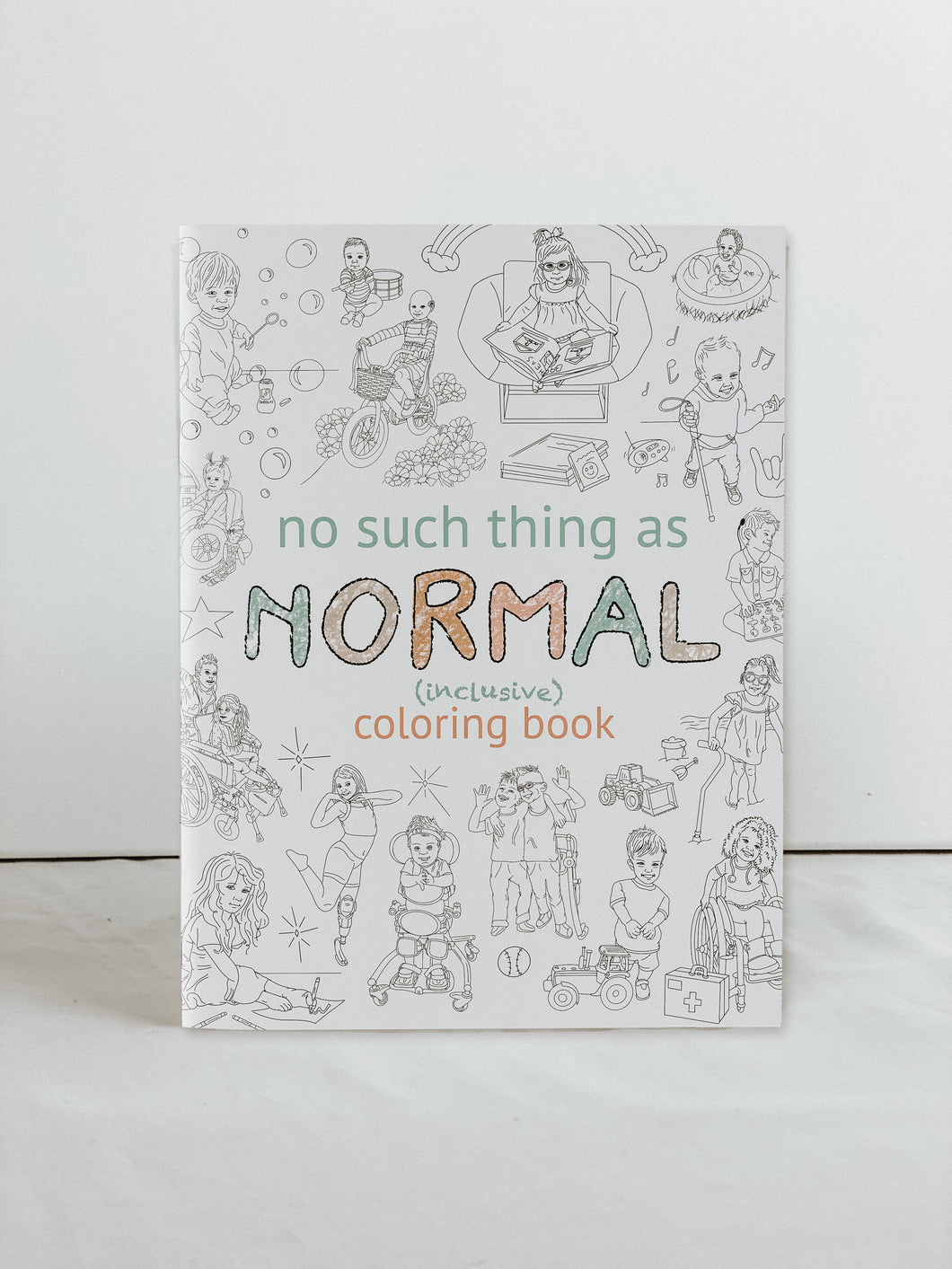 Inclusive Coloring Book