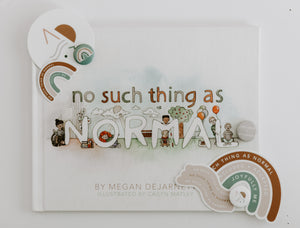 No Such Thing As Normal- Sticker and Pin Bundle