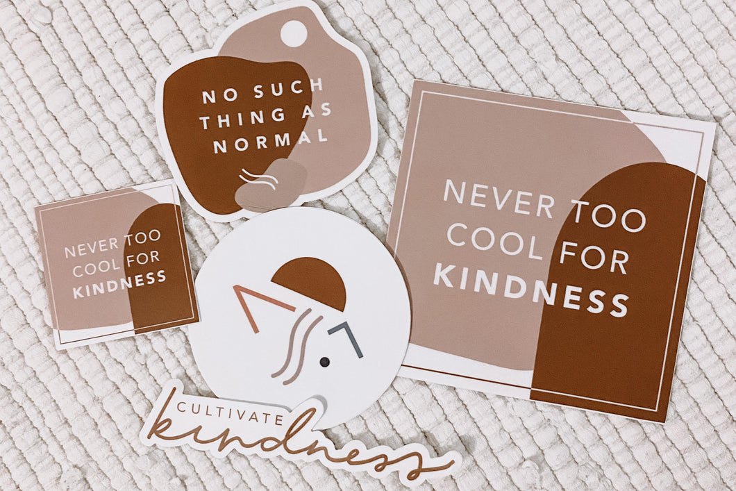 Cultivate Kindness Sticker set