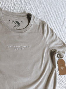 Not Your Normal Mother. Embroidered T-shirt