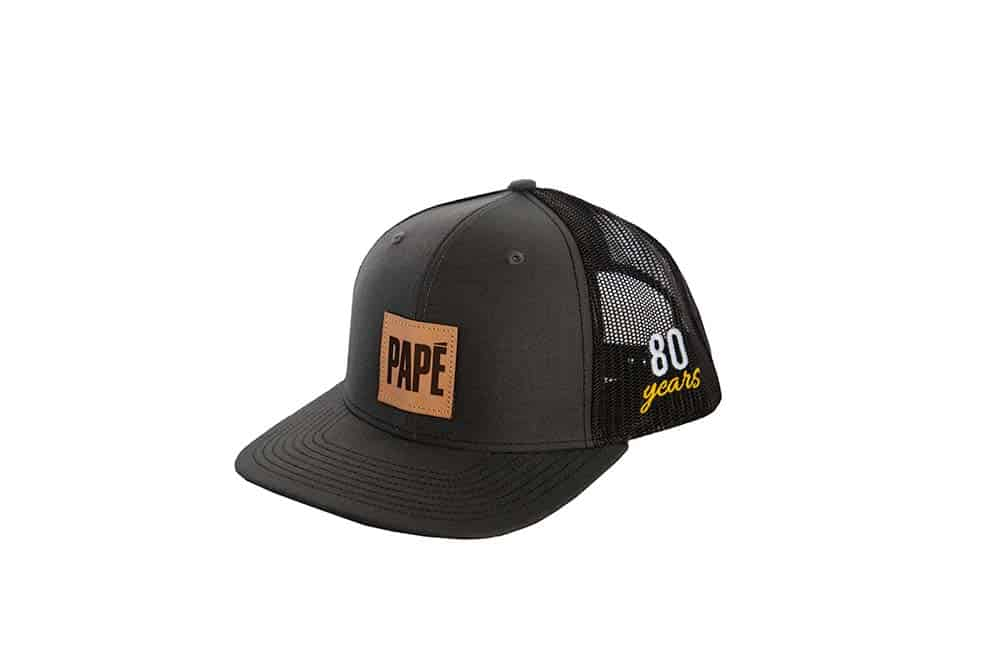 80th Anniversary - Richardson Trucker Cap (Black/Charcoal)