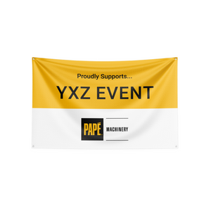 Banner - Yellow/White - Proudly Sponsors- OpCo/Event