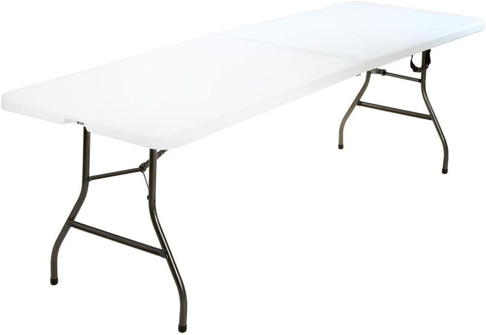 8' White Table - Collapsible **RENT**