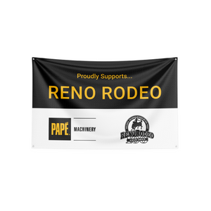 Banner - Black/White - Proudly Sponsors - OpCo/Event/Event Logo
