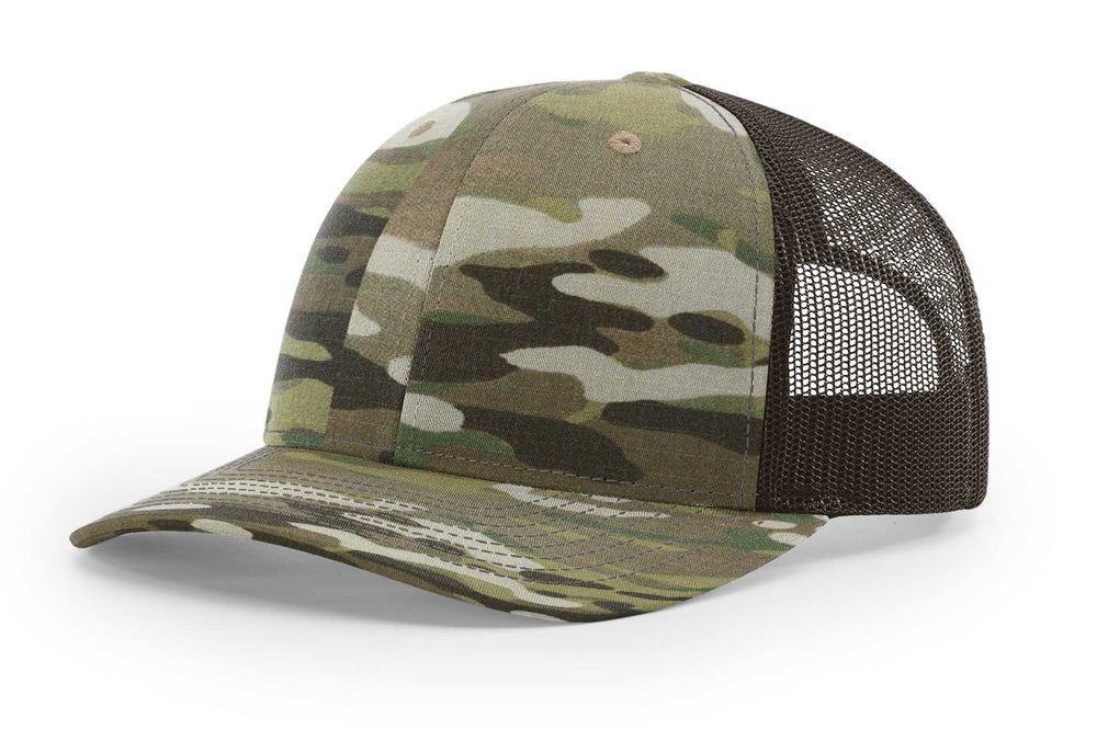 Load image into Gallery viewer, Richardson MultiCam Trucker