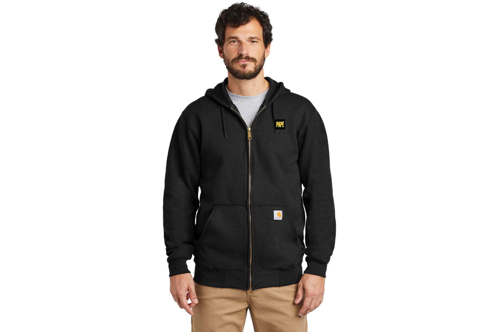 Load image into Gallery viewer, Carhartt Midweight Hooded Zip-Front Sweatshirt