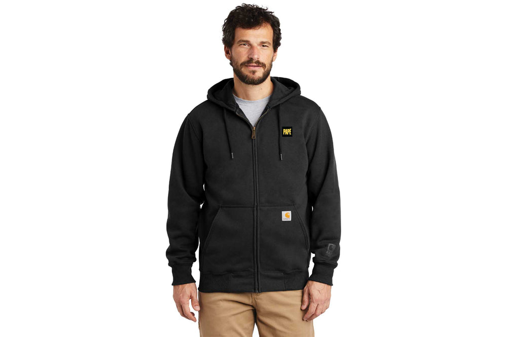Load image into Gallery viewer, Carhartt Rain Defender Paxton Heavyweight Hooded Zip-Front Sweatshirt