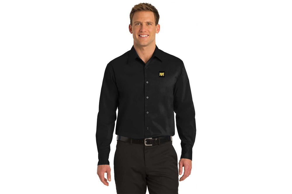 Load image into Gallery viewer, Port Authority Men's Stretch Poplin Shirt