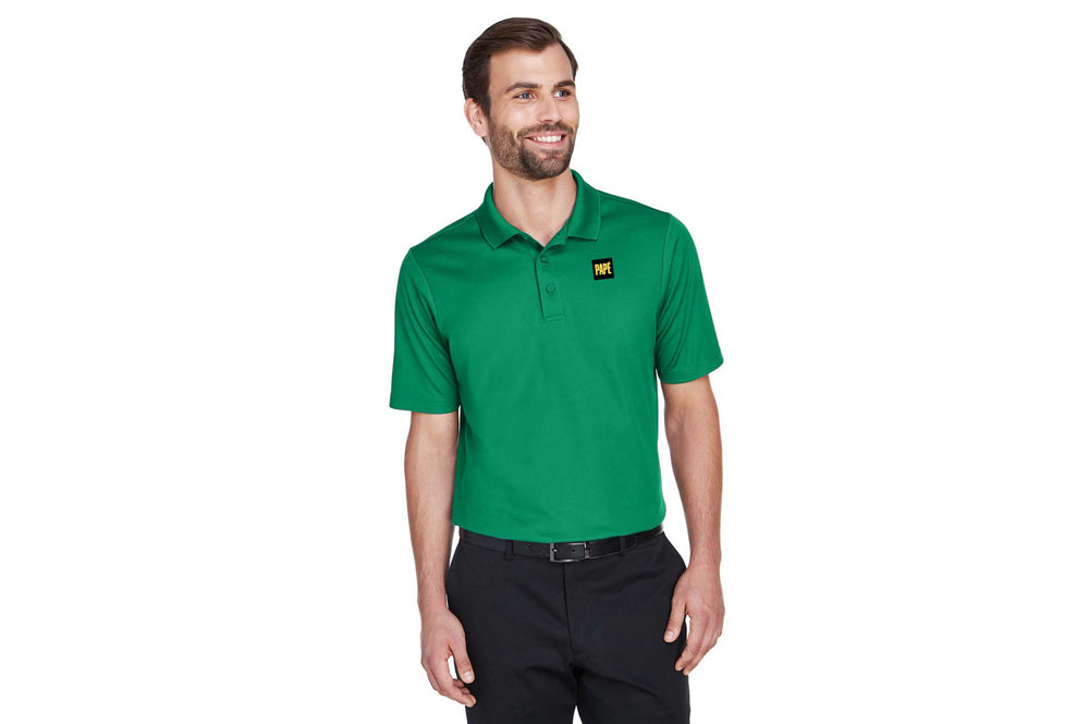 Devon & Jones CrownLux Performance™ Men's Plaited Polo