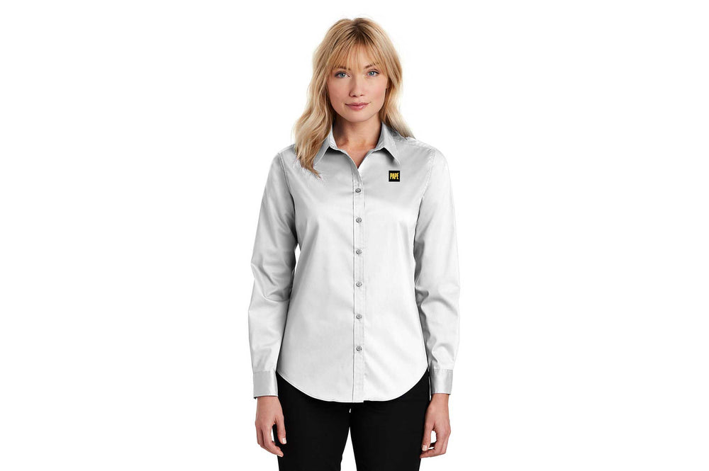 Load image into Gallery viewer, Port Authority Women's Stretch Poplin Shirt