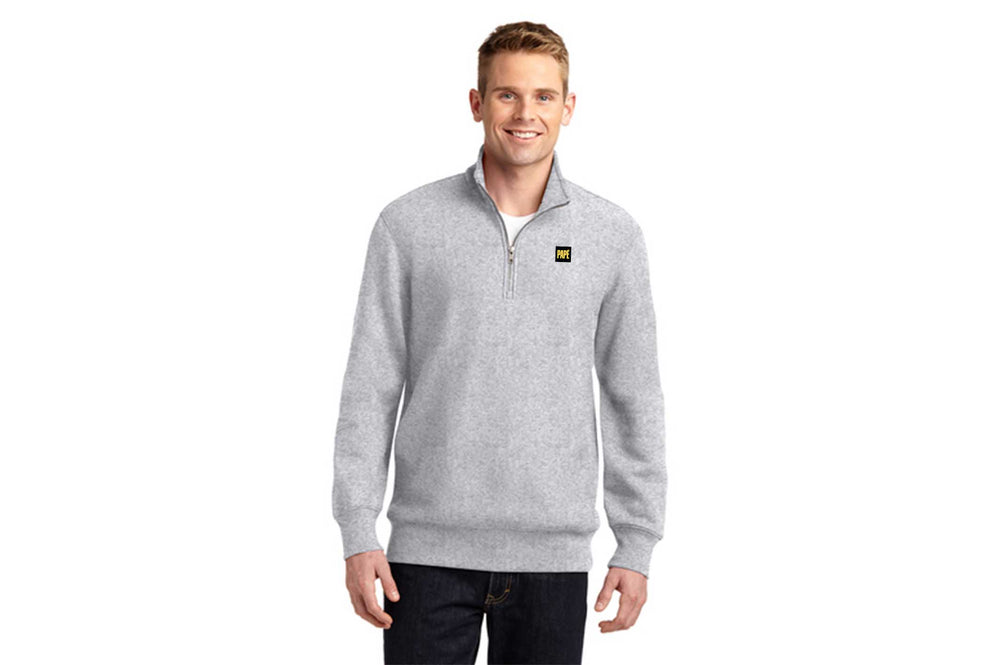Sport-Tek Super Heavyweight Quarter Zip Pullover Sweatshirt