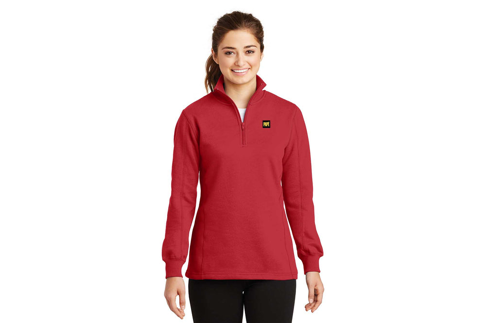 Load image into Gallery viewer, Sport-Tek Women's Quarter Zip Pullover Sweatshirt