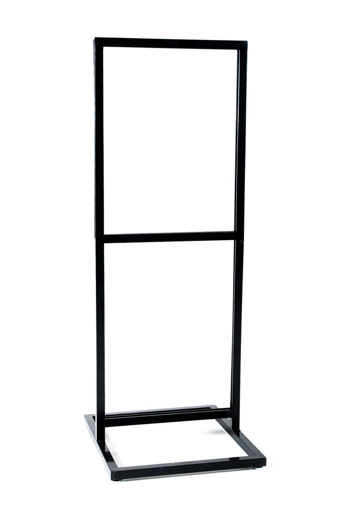 Load image into Gallery viewer, Double Tier Floor Standing Sign Holder **RENT**