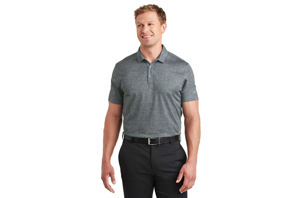 Load image into Gallery viewer, Nike Dri-Fit Crosshatch Polo