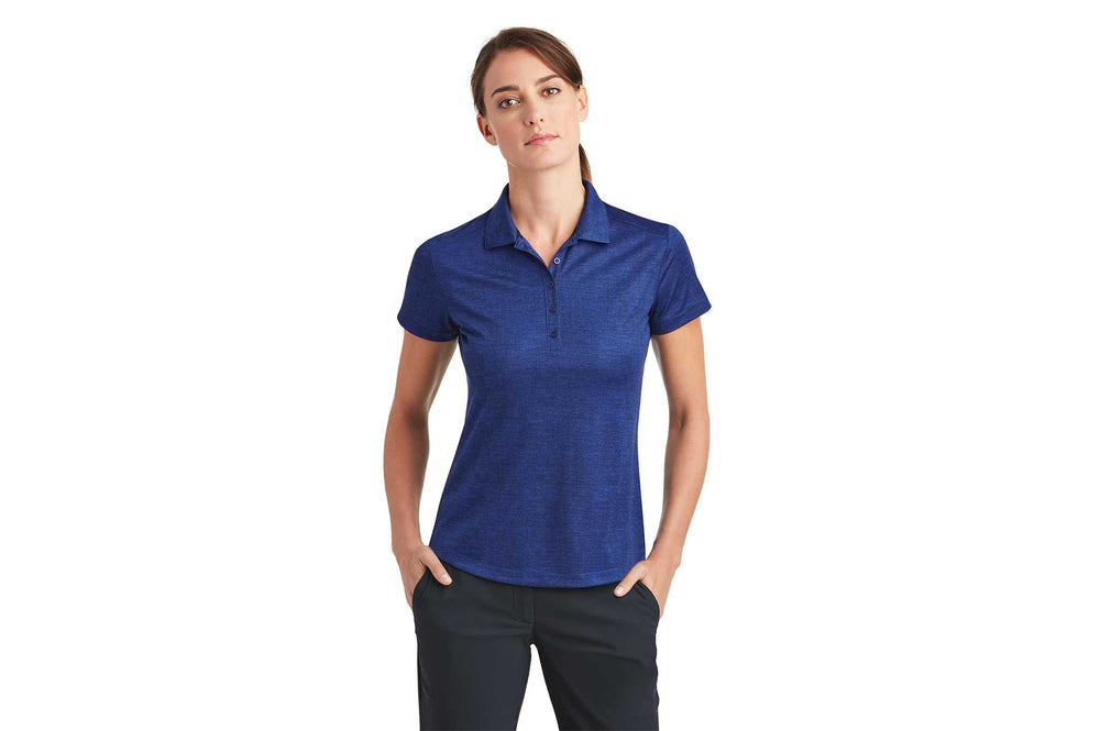 Load image into Gallery viewer, Nike Ladies Dri-Fit Crosshatch Polo