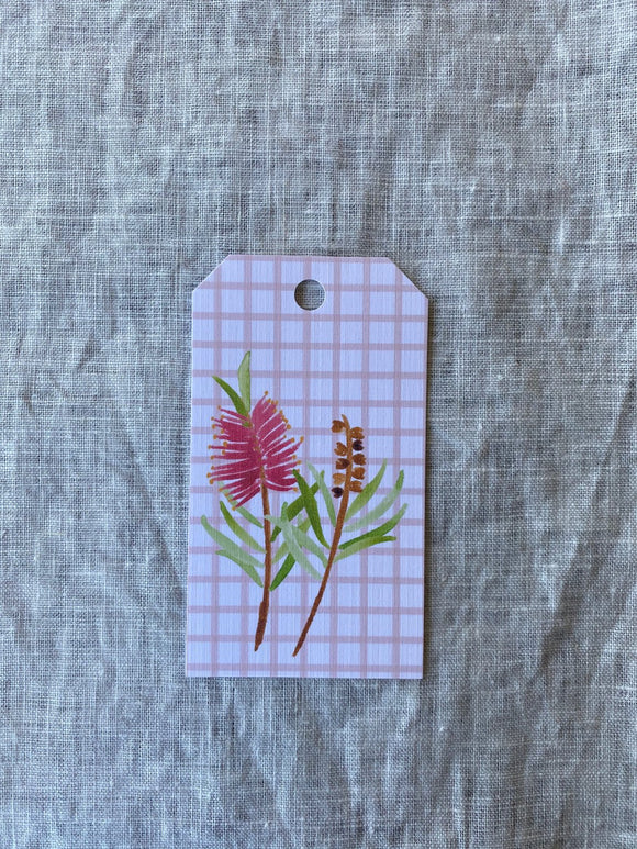 Banksia Gift Tag