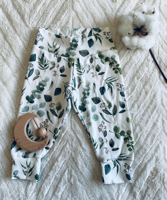 Organic Cotton Leggings - Bushland