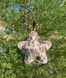 Cowhide Christmas Tree Decorations