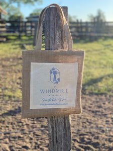 The Windmill Collective Jute Shopping Bag