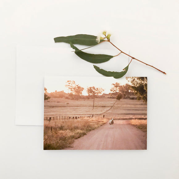 'Mackey's Creek Road' Greeting Card
