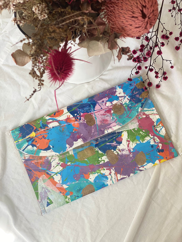 Willow & Hide Large Clutch/iPad Pouch - #5