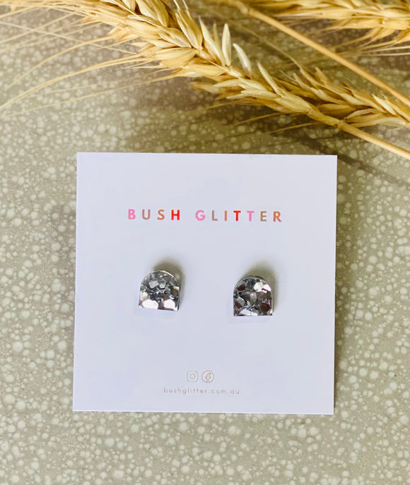 Be-You-Tiful Studs - Silver