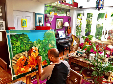 Paradise art studio in the tropics, The Visionary ART Workshop Singapore