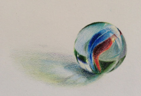 Visionary ART Workshop, Colour Pencil Study