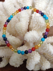Rainbow Crystal Bracelet Flow