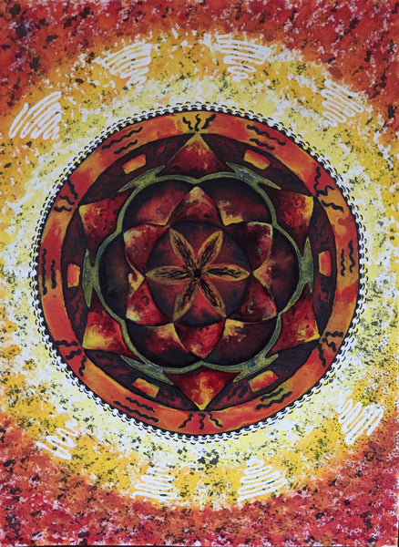 Mandala by Sveta Danilova, The Visionary ART Workshop, Singapore