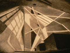 Architecture Studies in Charcoal by Isabel Lye