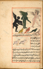 Creatures From the Island Zaneh by al-Qazwīnī